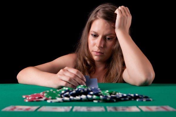 ギャンブル中毒者
